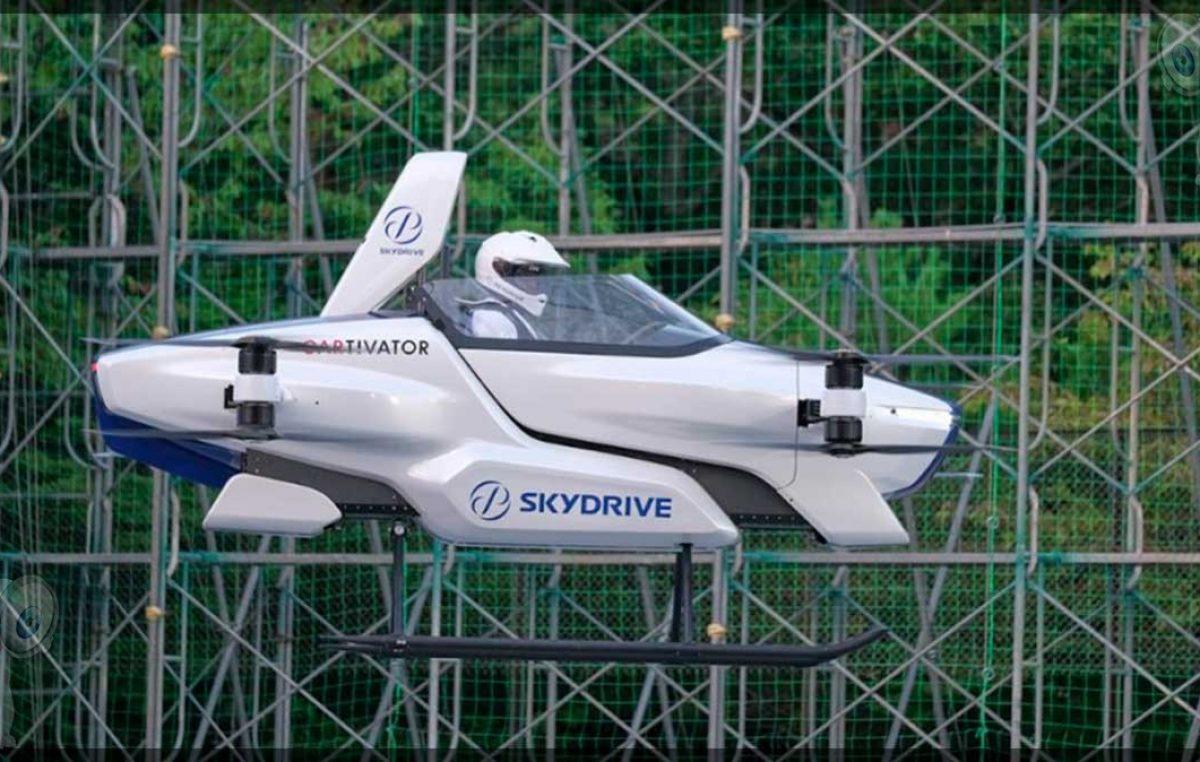 Compañía japonesa prueba por primera vez con éxito un auto volador tripulado