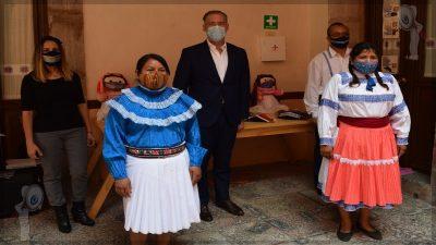 SEDESU y CQA entregan apoyo a artesanos