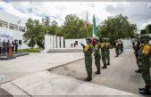 Gobierno sanjuanense y Ejército Mexicano rinden homenaje a Niños Héroes