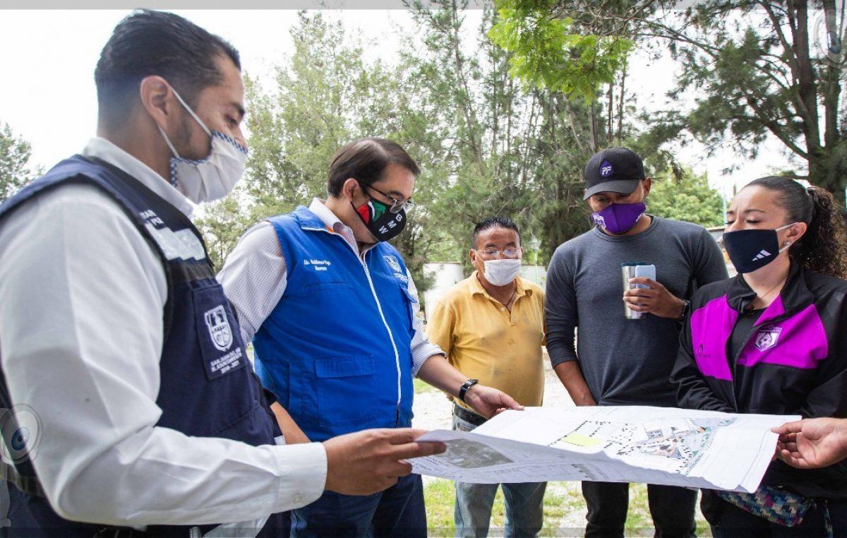 Inicia Memo Vega mejoramiento integral de la Unidad Deportiva Norte