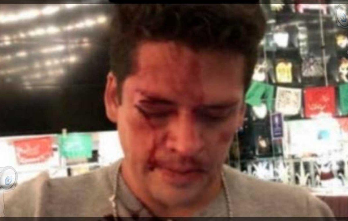 Eduardo Capetillo Jr. denuncia que golpearon a su primo en plaza comercial
