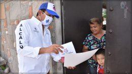 Inicia Amarildo Bárcenas entrega de 2do Informe de Gobierno