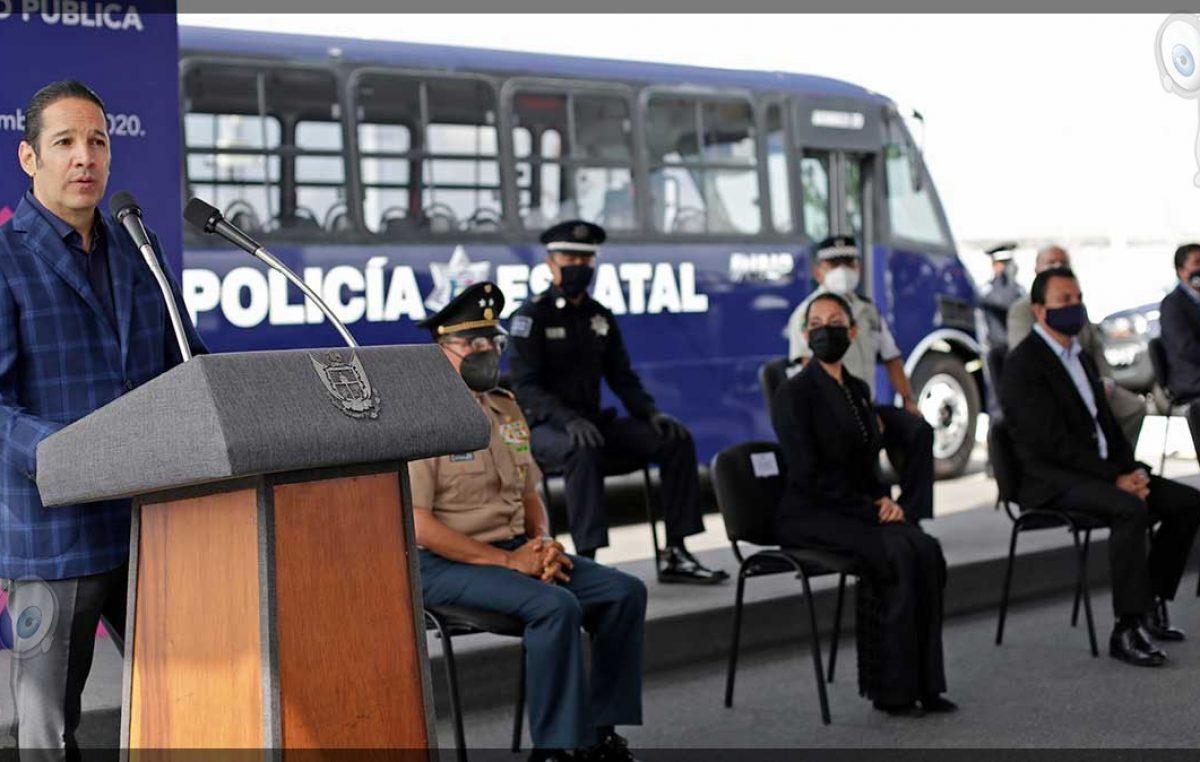 Refuerzan con equipamiento a corporaciones policíacas