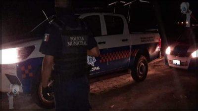 Dos sujetos lesionados por arma de fuego en El Organal