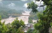 Al menos 100 damnificados deja desbordamiento de río en Tamazunchale