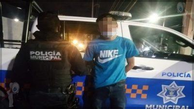 Detienen a sujeto con sustancia similar a la metanfetamina en La Rueda