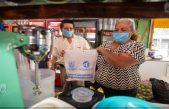 Inicia gobierno de SJR entrega de 3 mil kits sanitizantes a comercio