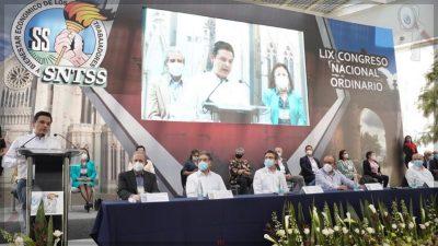 Acuerdan incremento salarial del 5.7 a trabajadores del IMSS