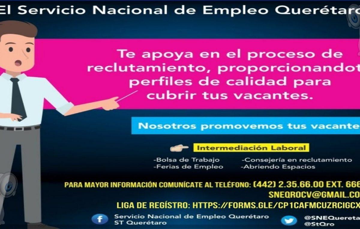 Anuncia ST bolsa de empleo y reclutamiento presencial