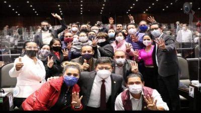 Morena festeja aprobación de la eliminación de 109 fideicomisos