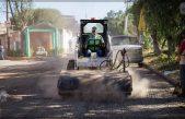 Da inicio mejoramiento de calles en El Carrizo