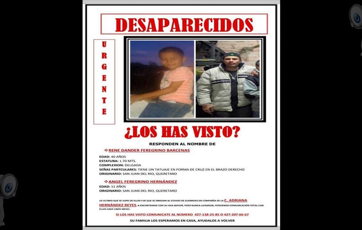 Desaparece familia sanjuanense, se dirigían al estado de Guerrero