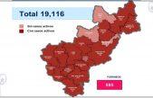 Querétaro con 19 mil 116 casos de COVID-19 y mil 515 defunciones
