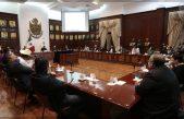 Construyen consensos autoridades estatales y municipales para enfrentar pandemia de COVID-19