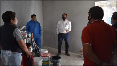 Supervisan apoyos sociales en Pedro Escobedo
