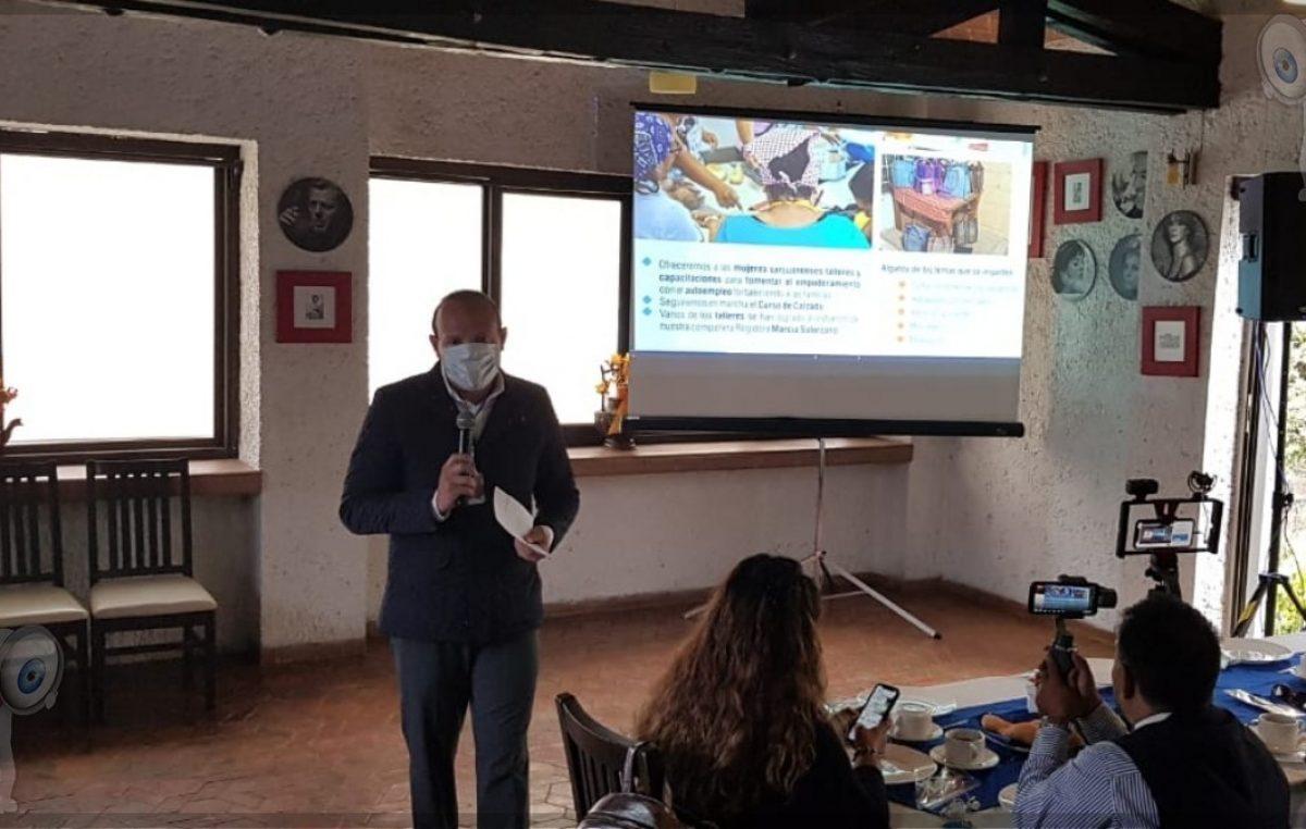 Germain Garfias sigue impulsando programas útiles de apoyo social