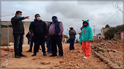 Anuncia obras de urbanización en Santa María del Camino, Tequisquiapan