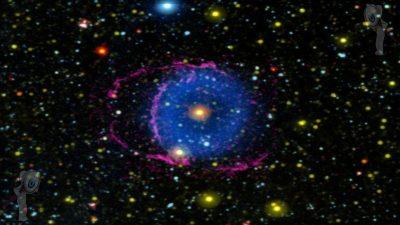 El misterio de la rara nebulosa del Anillo Azul está resuelto