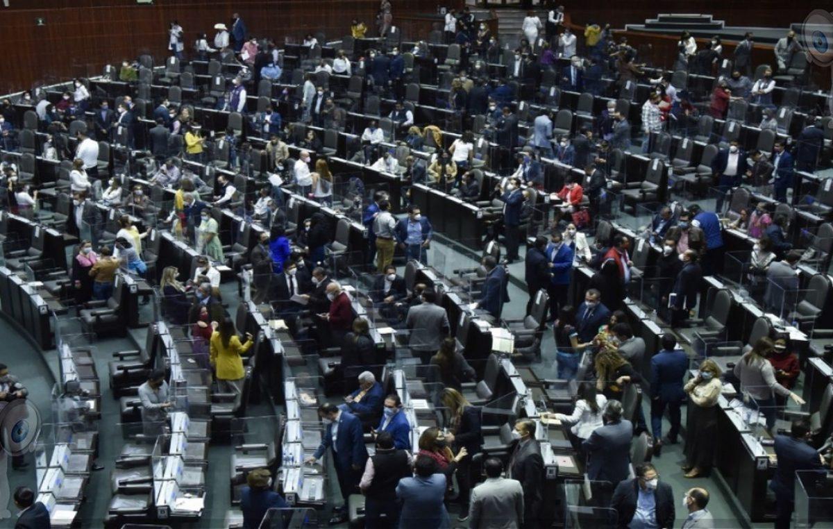 Cámara de Diputados con 295 casos de COVID-19
