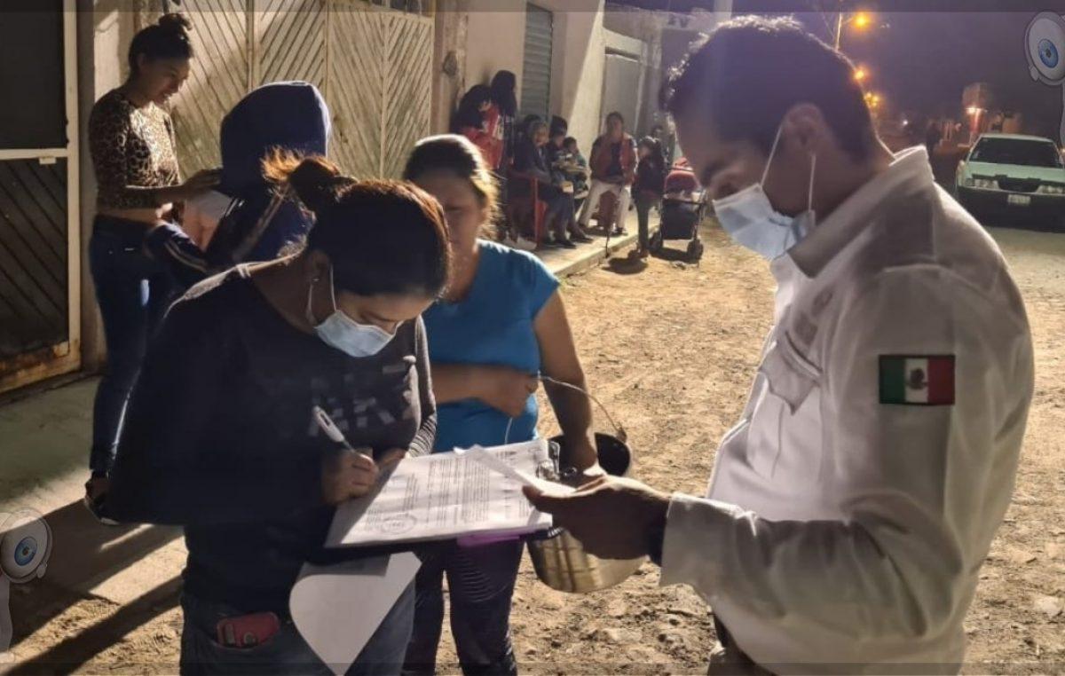 Buscan desacelerar contagio de COVID-19 en Pedro Escobedo