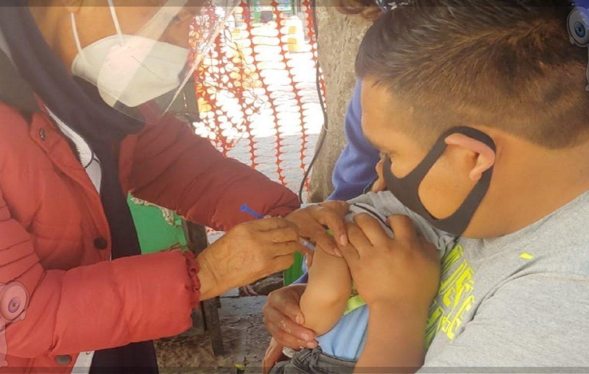Continúa vacunación contra influenza en Querétaro