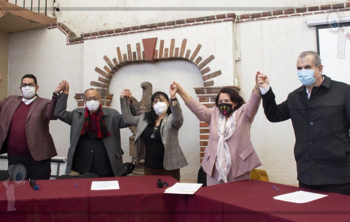 Morena Querétaro está fuerte y unido