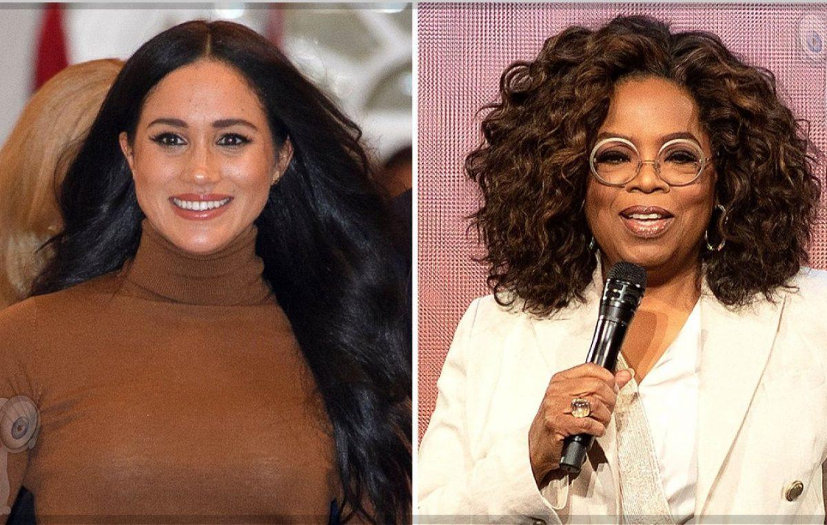Oprah Winfrey presume el regalo de Navidad que le hizo Meghan