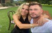 Así es como Elsa Pataky y Chris Hemsworth celebran diez años de casados