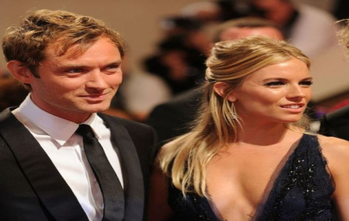 Sienna Miller habló por primera vez de cuando supo de la infidelidad de Jude Law