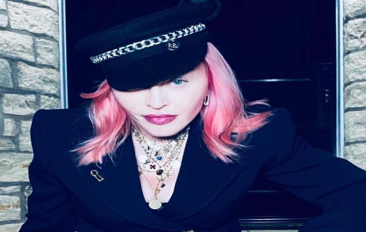 Madonna se hace su primer tatuaje