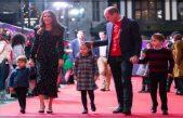 George, Charlotte y Louis debutan en su primera alfombra roja