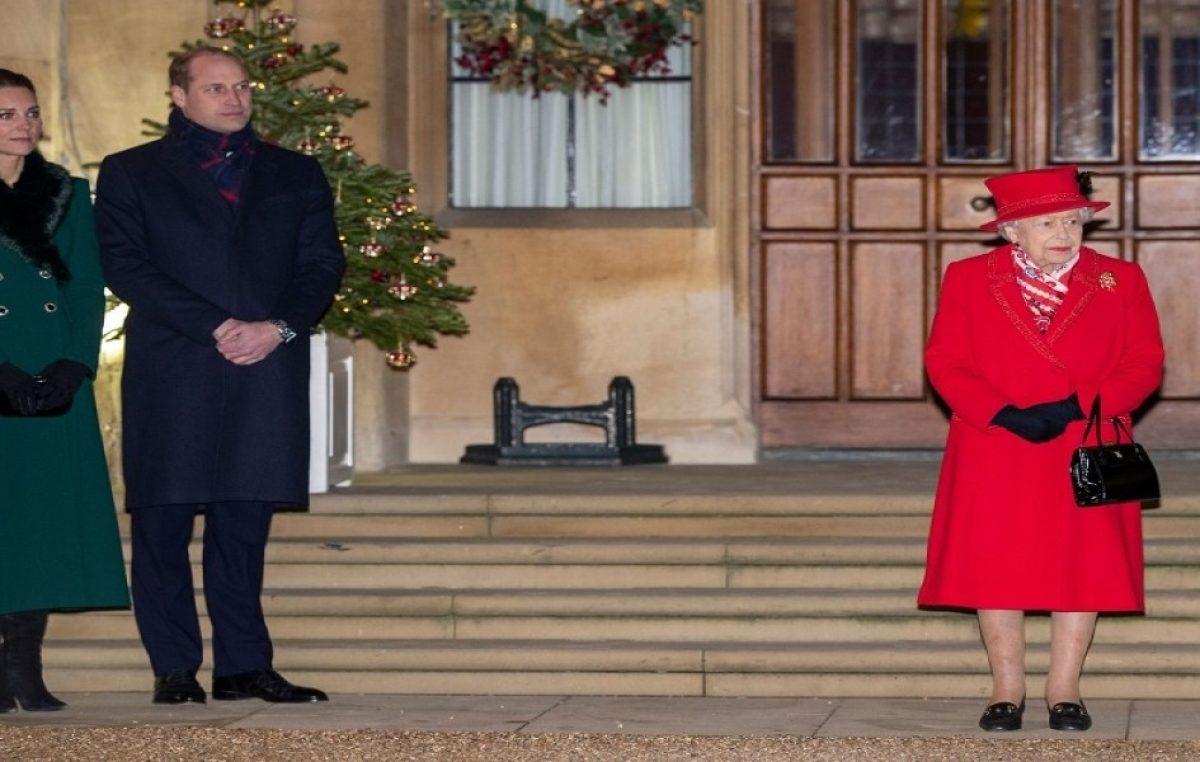 Así fue el reencuentro de William y Kate con la reina tras meses de aislamiento