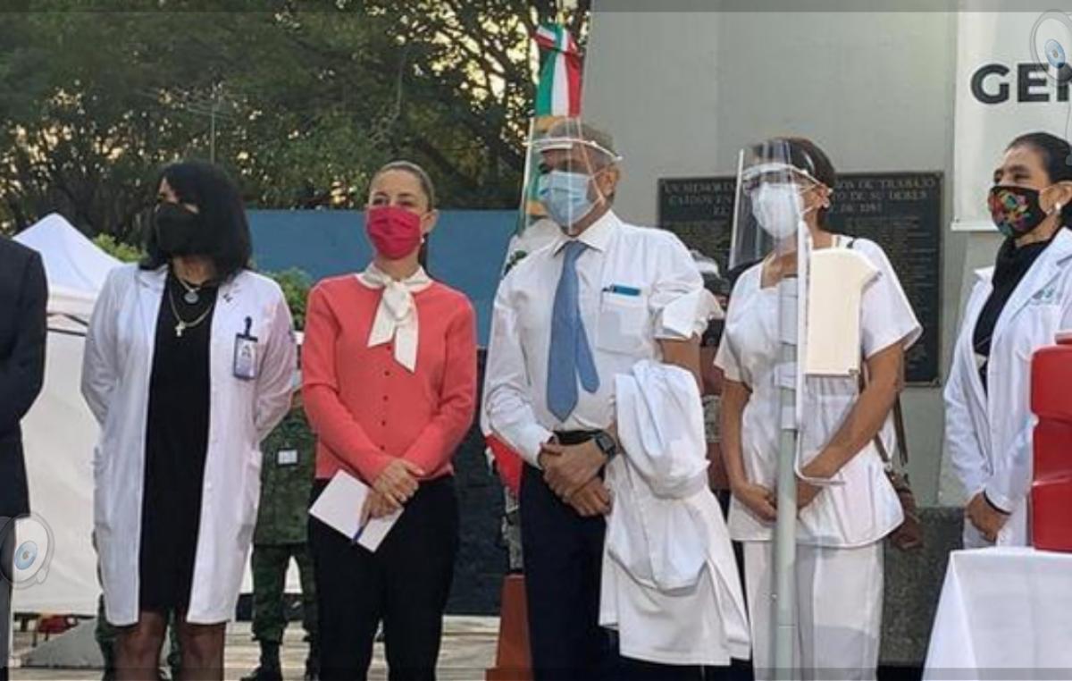 México comenzó con la aplicación de vacuna anticovid de Pfizer