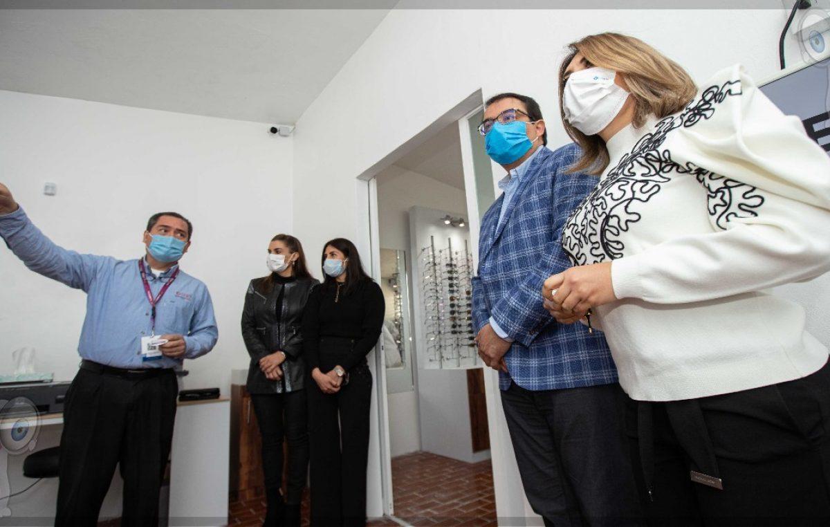 Inauguran Instituto Mexicano de Oftalmología en SJR