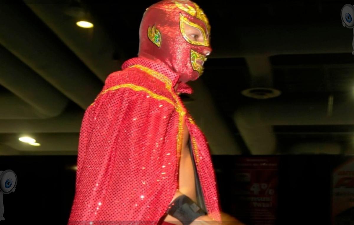 El personaje de Daniel Aceves en la lucha libre