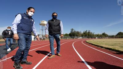 Gobernador entrega obras por más de 14 mdp en Tequisquiapan