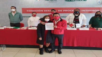 Se registra Gustavo Nieto Chávez como precandidato del PRI a la alcaldía de SJR