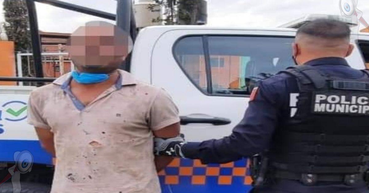 Detienen a sujeto armado en Vaquerías, SJR