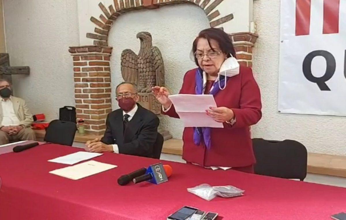 Se registra Celia Maya como precandidata a la gubernatura de Querétaro por MORENA