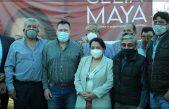 Celia Maya se reúne con militantes y simpatizantes de MORENA en SJR