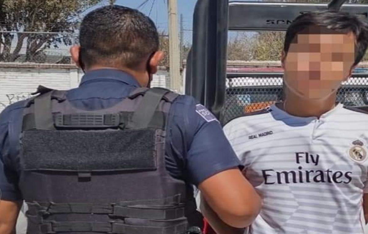 Detienen a sujeto con arma de fuego en La Estancia