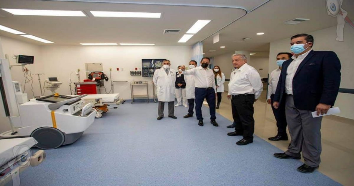 Inaugura AMLO nuevo Hospital General en Querétaro