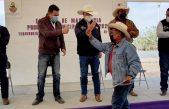 Entregan apoyos para la productividad agropecuaria en TX