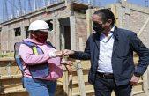 Supervisan obra del Nuevo Refugio para Mujeres Comunidad Nu'Ju
