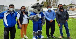 Entregan rehabilitación de espacios deportivos en planteles de la UAQ