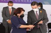 Celia Maya García se registró como candidata oficial de MORENA