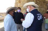 Entrega SEDEA apoyos a ganaderos por afectaciones