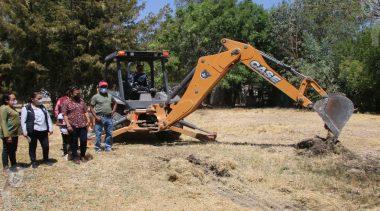 Arrancan obras en cabecera municipal de Pedro Escobedo