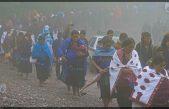 Mujeres Indígenas protestan para defender sus derechos en México