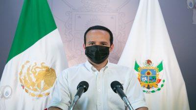 Vocería pide no bajar la guardia ante tendencia a la baja de contagios COVID-19 en Querétaro